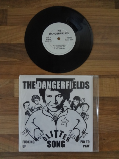 The Dangerfields, Glitter Song, 7 Inch Vinyl.