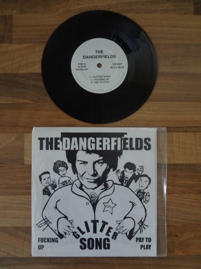 The Dangerfields, Glitter Song, 7 Inch Vinyl.