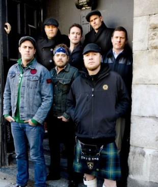 The Dropkick Murphys, photo credit by Sullivan. Used by AOS.