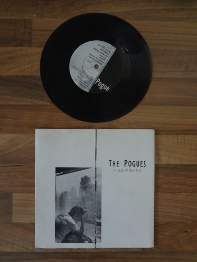 The Pogues, Fairytale of New York 7 Inch Vinyl.