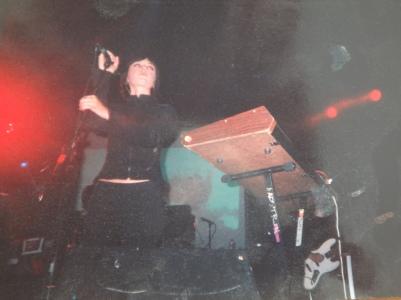 Ladytron, Sonar Club, 30th May 2003.