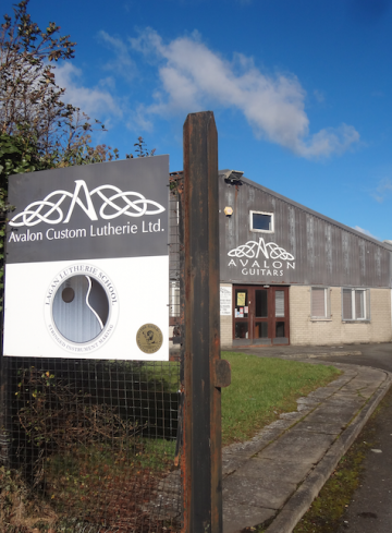 Avalon Guitar Manufacture Shop and Workshop, Based in Newtownards, County Down, Northern Ireland...