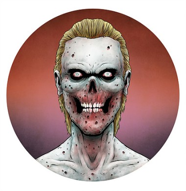 DEAD Man by Artist and Illustrator Tim Molloy.
