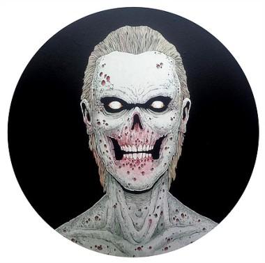 DEAD MAN by Artist and Illustrator 'Tim Molloy'