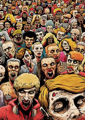Zombies by Tim Molloy
