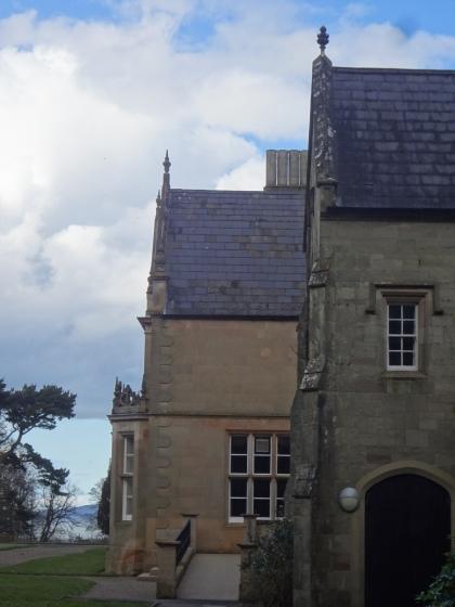 Bangor Castle, Northern Ireland. Architecture by William Burn.