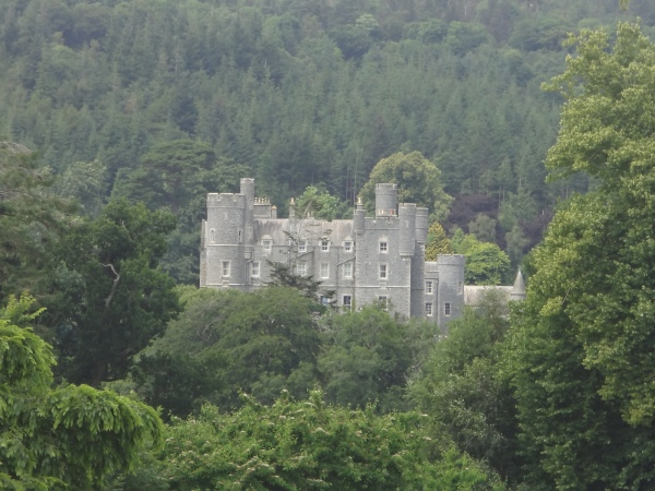 Castlewellan Castle, County Down, Architecture by William Burn.