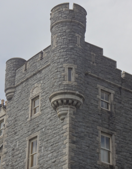 Castlewellan Castle, Northern Ireland. William Burn.