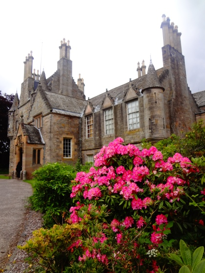 Lauriston House, Edinburgh. Scotland. Architecture by William Burn.