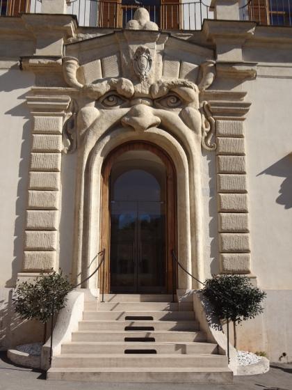 Palazzo Zuccari, Rome, Italy. Built by Federico Zuccari.