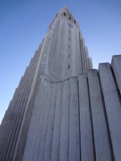 Hallgrímskirkja, Reykjavík. Architecture by Guðjón Samúelsson.