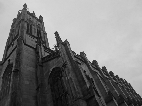 St Johns, Princes Street, Edinburgh, Scotland. Architecture by William Burn.