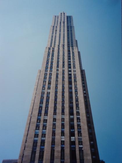 The Rockerfella Centre, Manhattan, New York City. USA. Architecture by Raymond Hood.