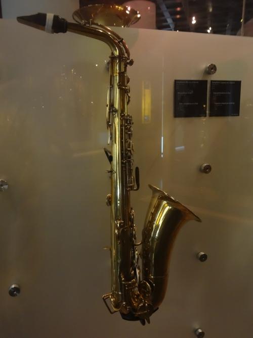 Alto Saxophone, Adolphe Sax, 1863.