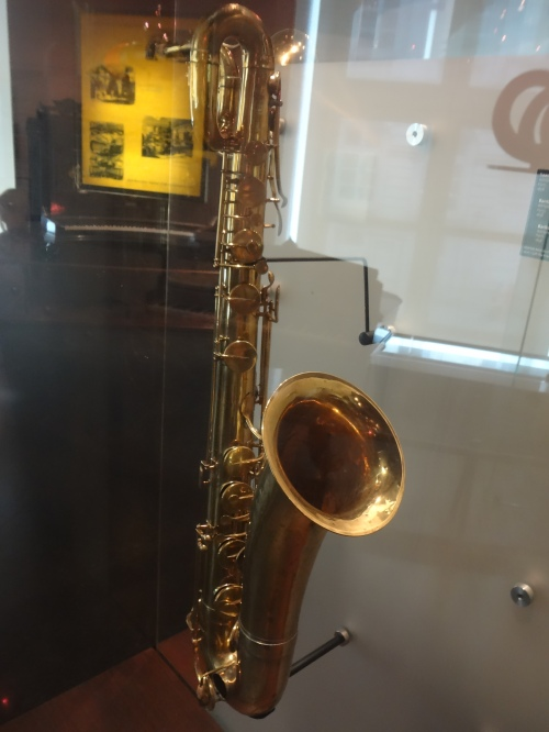 Baritone Saxophone, Adolphe Sax, Paris. 1858.