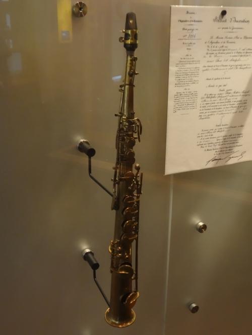 Soprano Saxophone, Adolphe Sax. 1858.