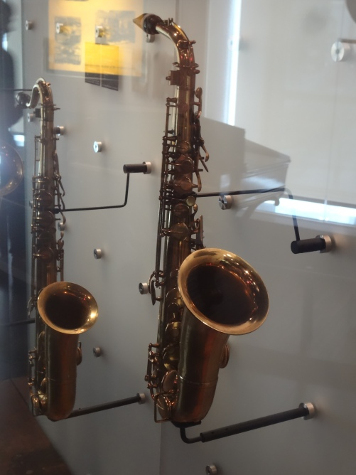 Alto and Tenor Saxophones, Adolphe Sax.