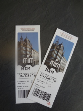 Musical Instrument Museum, Two tickets.