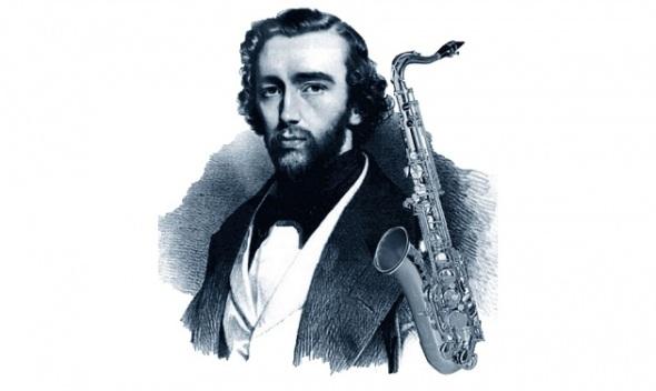 Adolphe Sax. November 1814 - February 1894.