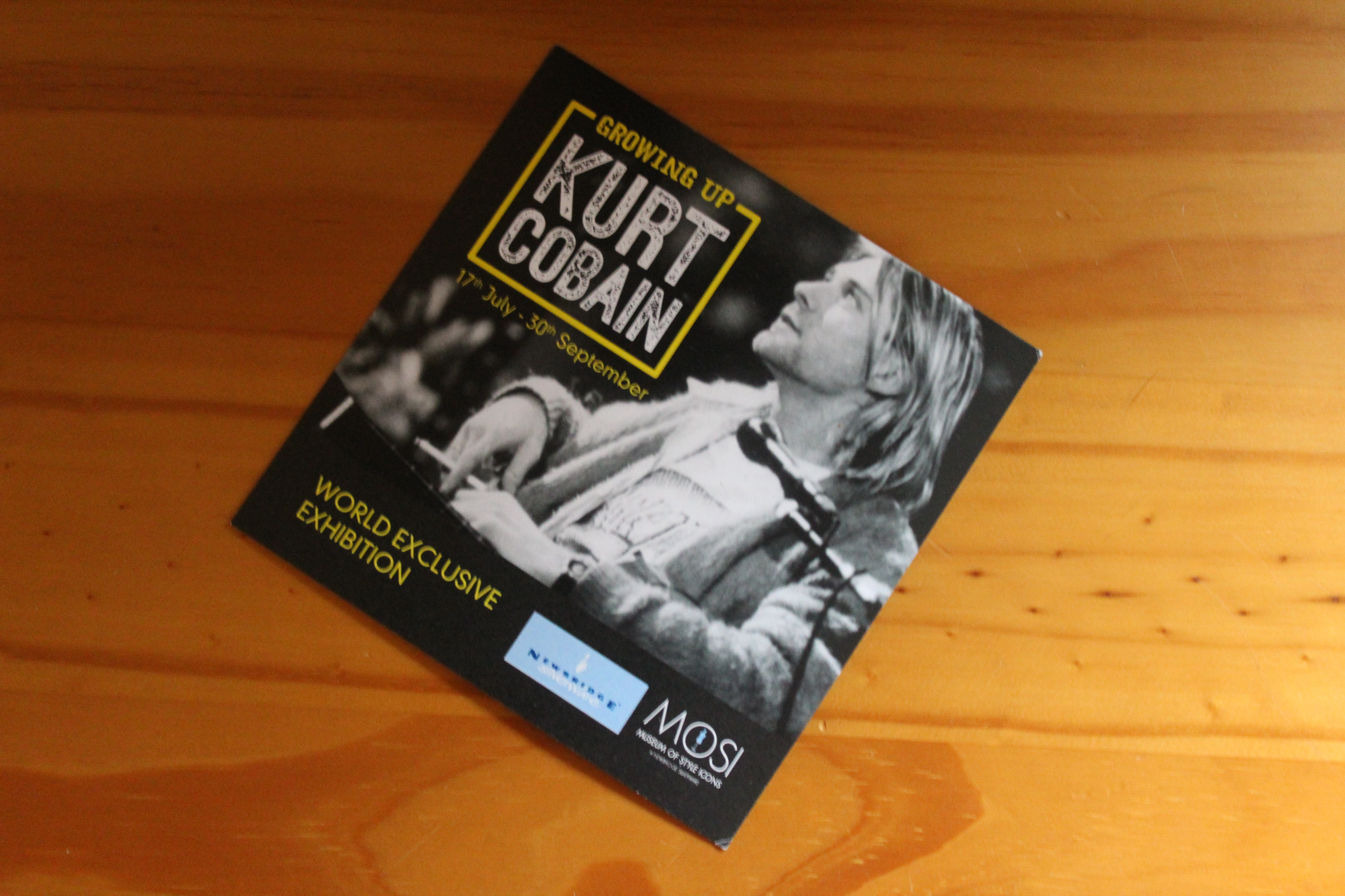 392d43c2f44b The World Exclusive  Growing up Kurt Cobain  Exhibition opened on the 17th  July and runs until 30th September 2018.